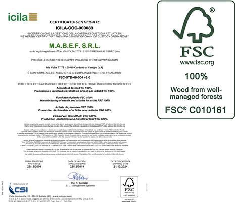 FSC Certification | M.A.B.E.F. Art supporters