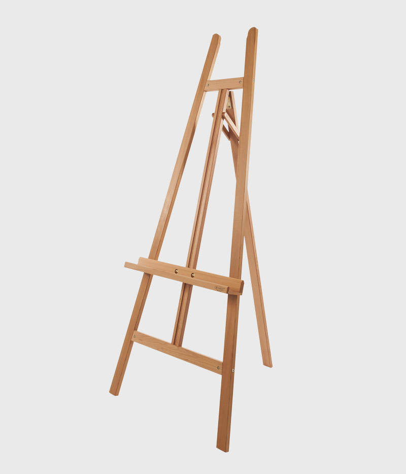 Lyre easels | M A B E F  Art supporters